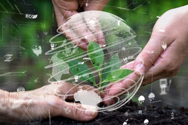 Future,Environmental,Conservation,And,Sustainable,Esg,Modernization,Development,By,Using